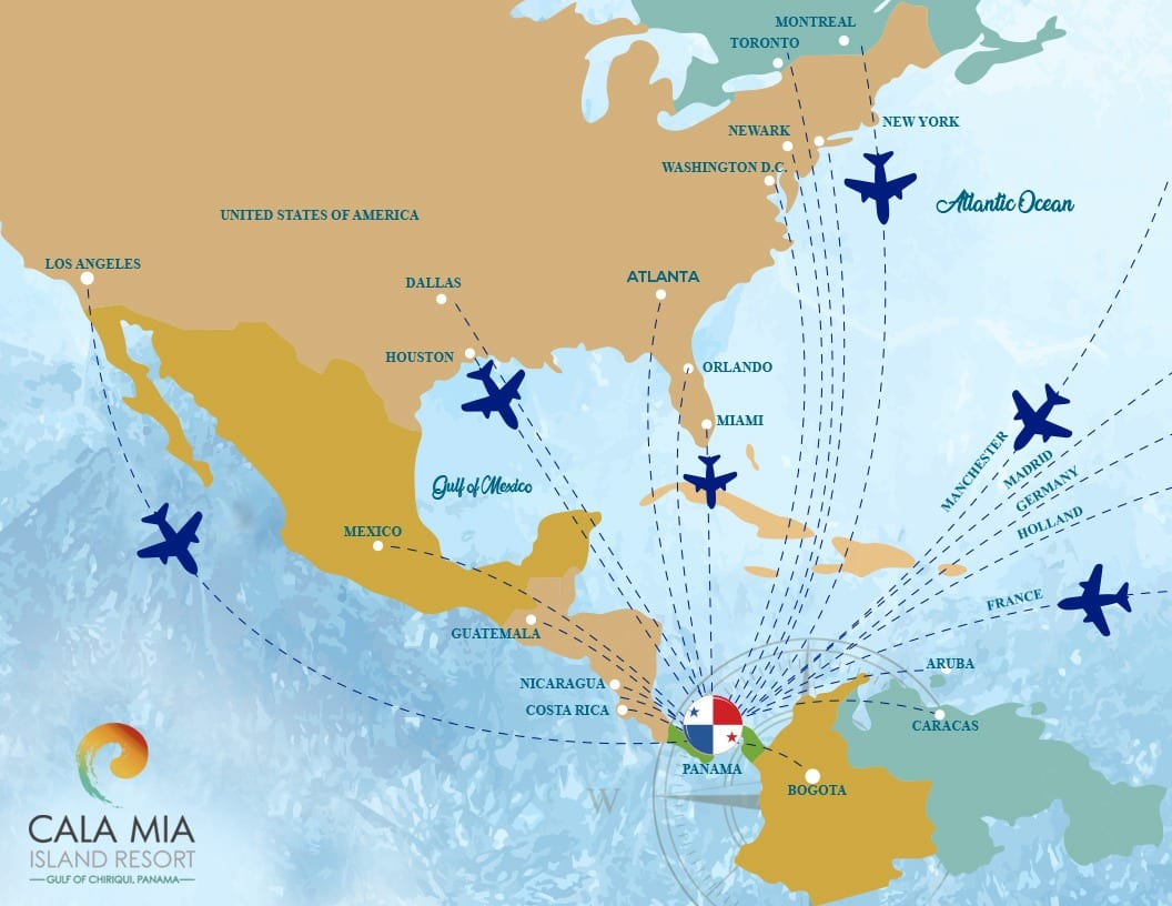 Direct flights to Panama