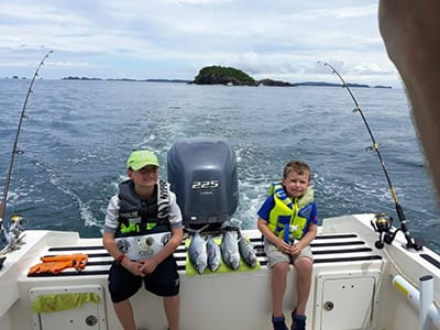 Cala Mia Island Resort Family fishing