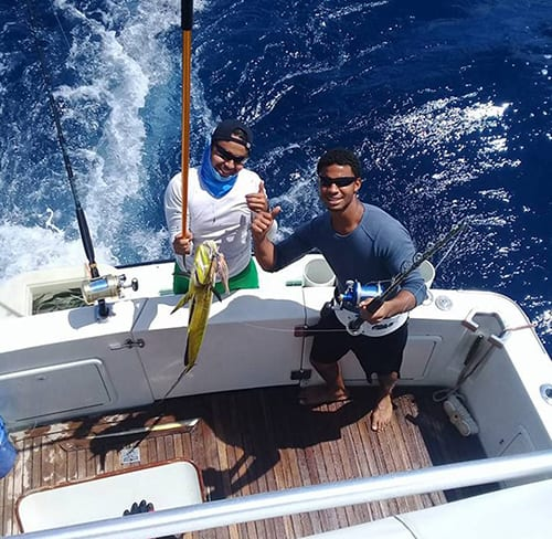 Cala Mia fishing