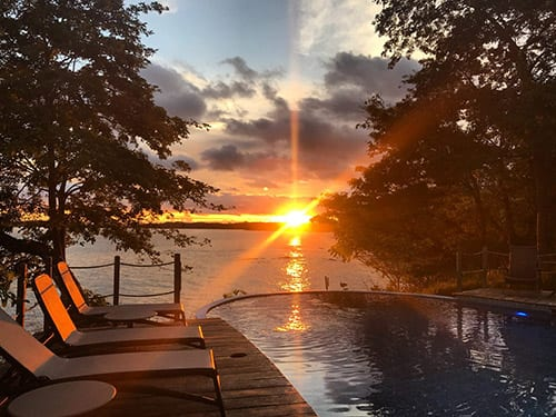 Cala Mia Resort sunset