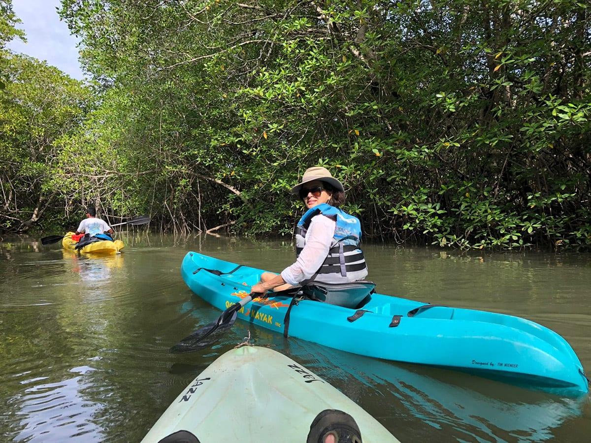 Kayaking Panama