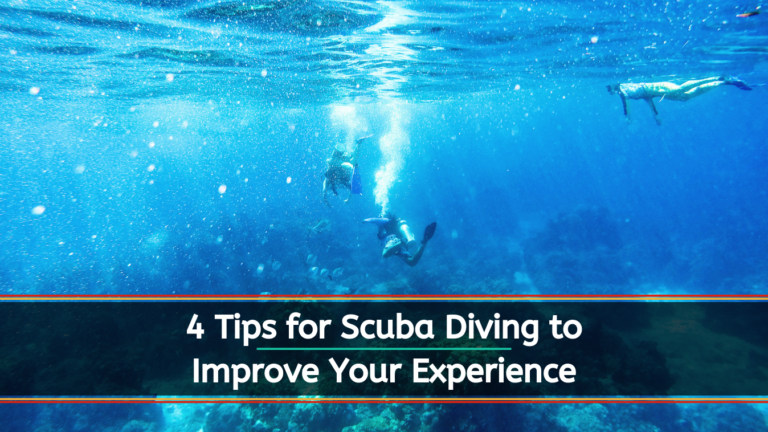 4 Tips for Scuba Diving to Improve Your Experience