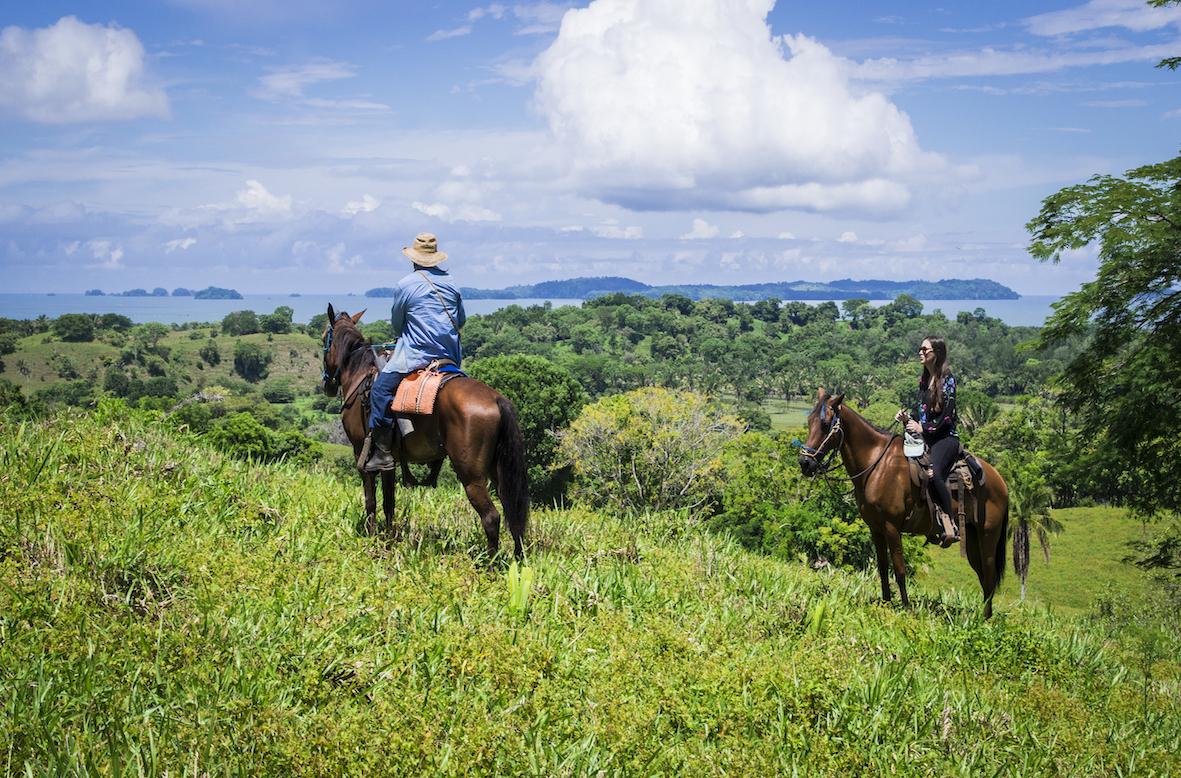 Island horseback tour