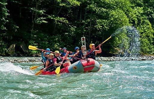 boquete rafting