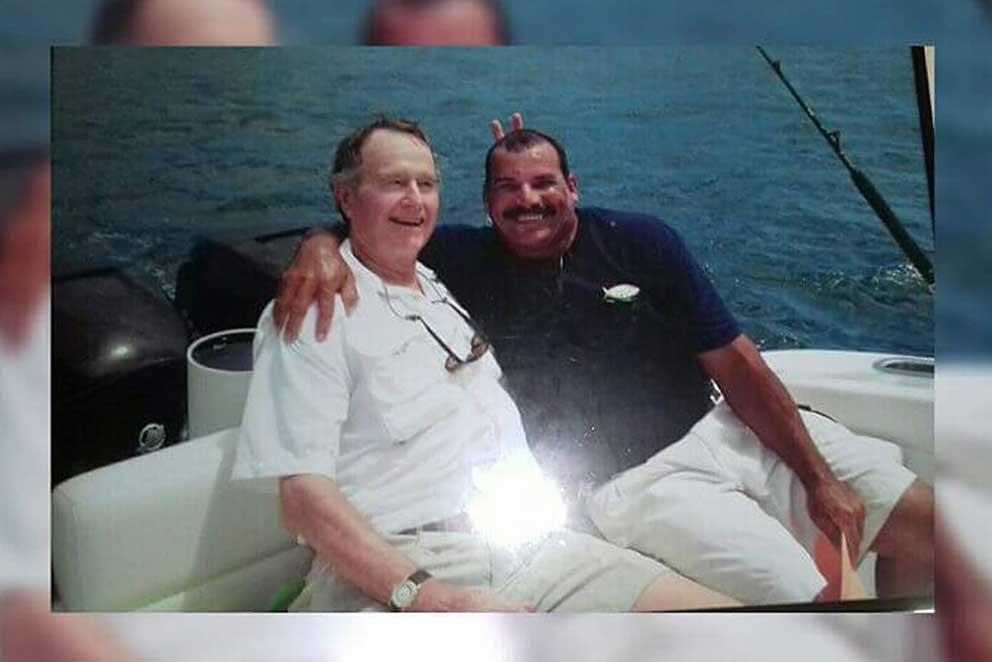 marlin fishing panama George W Bush