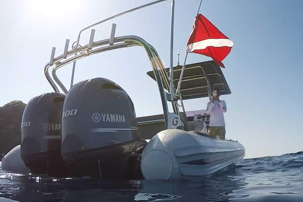 Panama Dive Boat Cala Mia