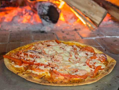 Beach Club Pizza cala mia