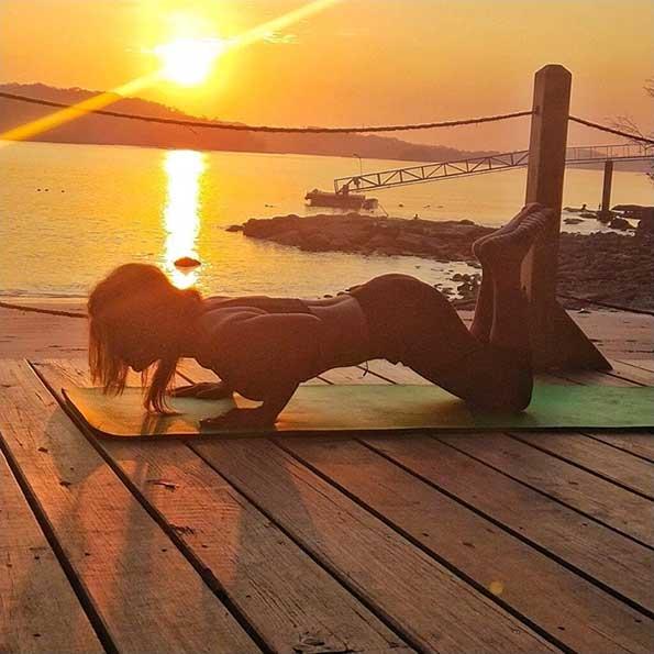 Sunrise Yoga at Cala Mia
