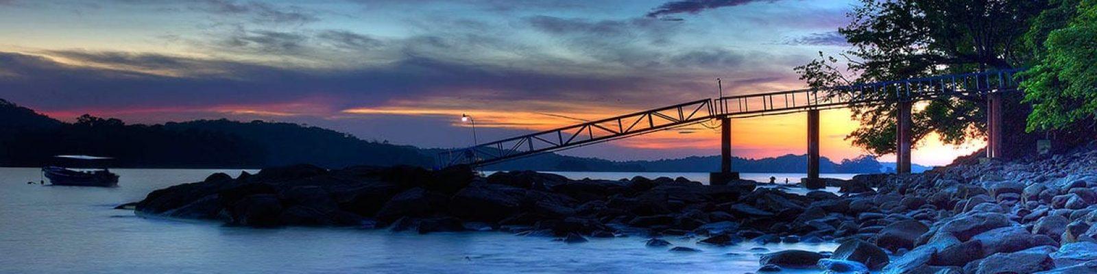 Rocky Panama Shore